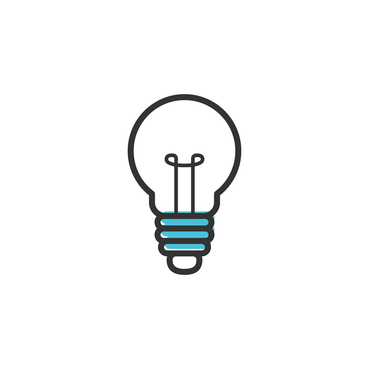 idea, icon, light